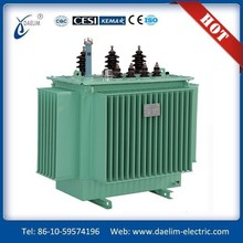 10kV/2500 kVA Full-sealed high voltage oil cooled distribution transformer