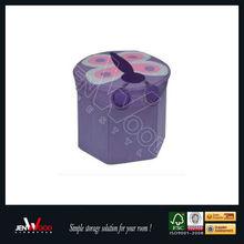 Kids furniture round cube ottoman