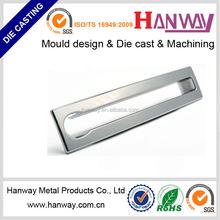 Foshan NanHai factory OEM die casting service Chrome metal stainless steel CNC machining adjustable chair legs