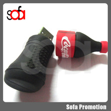 2015 cheap and top quality promotion beverage bottle USB flash drive