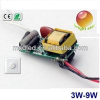 Rubycon Capacitor NXP IC dimmable led driver circuit 3w