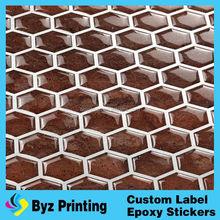 100% new material gel material vinyl kitchen tile bedroom