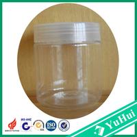 200ml big volume cosmetic use pet jar, plastic cream jar, pet plastic jar