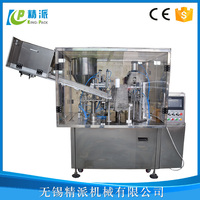 2015 KingPack sale Automatic Plastic Soft Tube Filling And Sealing Machine With Date Printing
