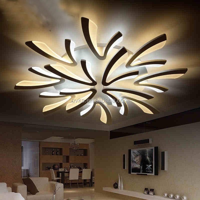 Favori Nouvelle Conception intérieure accueil luminaire moderne acrylique  KG64