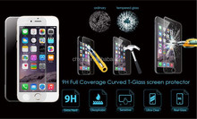 9H Surface Hardness Premium tempered glass screen protective film for iPhone 6/6 plus