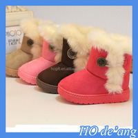 HOGIFT 2015 New children snow boots for winter girls Children Thicken Shoes For baby Kids child snow boots 4 colour