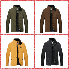 Customize new style men slim fit down straight jacket for the winter OEM service college outdoor coat