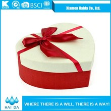 Wholesale In China Red Heart-shape Wedding Favor Box