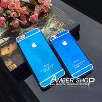 2015 Blue Light Mobile Phone Case for Smart phone Luxury Back Cover Case for young lady
