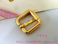 DIY luggage leather handbags bags hardware fittings light gold specifications: diameter of 1.6cm*1.6cm