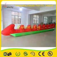 New Design 0.9mm PVC Tarpaulin Inflatable Boat/Inflatable Towable Banana Boat For Sale