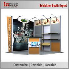 Custom exhibition expo exhibition stand 3x3