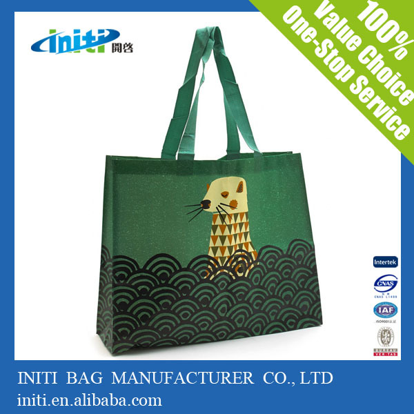 2015 Wholesale Laminated Non Woven Shopping Bag For Shopping