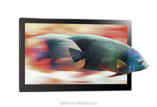 big screen 14 inch digital photo frame support music/video/movie, OEM for advertising machine