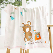 EAswet Top Quality New Design Wholesale Bamboo Organic Cotton Baby Blankets