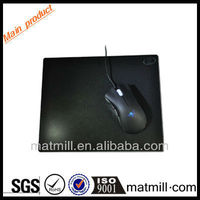 Eco-friendly black adult mouse pad to gamers for promotion