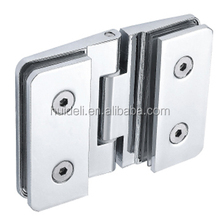 Bathroom & toilet partition accessories aluminium 180 degree door spring hinge