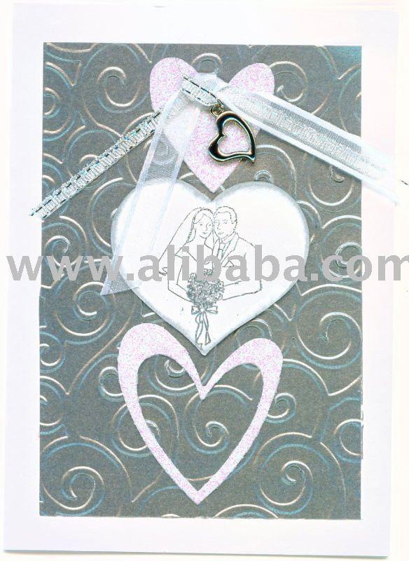 Hechos a mano tarjetas de felicitación - la boda / del aniversario