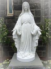 custom any sizes classic fiberglass statues of our lady of