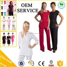 2015 New Fashion Hospital uniform,Medical scrubs, Beauty salon uniform For Spa With Hot Sale Style
