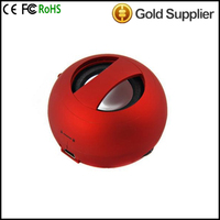 Hot For Mini Hamburger Speaker ,Portable speaker mini II Capsule speakers,3.5MM for MP3/MP4/PC Sleek Design ( Color White,Black)