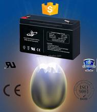 6v 10ah high quality solar vrla ni-cd lead acid battery electric bike battery(6v10ah/10hr)