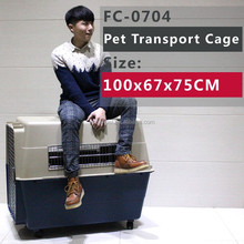 Extra Large Pet Dog Cat Crate Cage Kennel With Plastic Tray