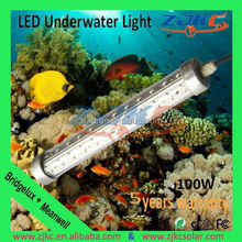 High Power RGB led underwater fishing lights light bars light bars