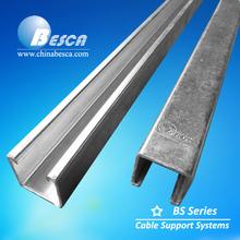 Galvanized C steel profile unistrut channel