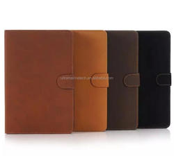 2015 Best wallet stand Retro leather Case For Apple iPad mini 4 2015