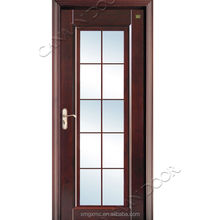 Canaan Doors Graceful Model With Art Glass Wood Door Design Window