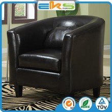 PU PVC LEATHER FABRIC ANTIQUE MODERN LIVING ROOM FURNITURE HOTEL LOUNGE ARMCHAIR