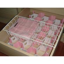 drawer organizer rack