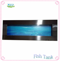 Stainless Steel Wall Mounted Aquariums - Standard Contemporary Wall Aquarium