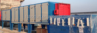 HVAC air purification system with stainless steel electrostatic cell field