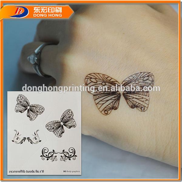 2013 пользовательских на водной основе татуировки/татуировки наклейки