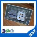 Nova alta qualidade 10a 250 v recipientes eua switches, américa do sul padrão soquetes de estanho, modular painéis de parede, brasil