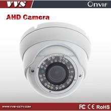 Metal vandal proof Indoor AHD CCTV Camera real time