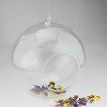 New arrival Hanging Crystal Flower Vase Planter Terrarium Container Vases Pot Home Wedding Desk Party Decoration