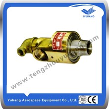 water air oil copper rotary joint