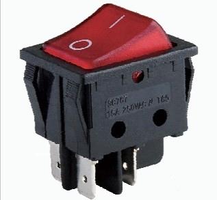 Double pôle ON-OFF, ON-ON, ON-OFF-ON Interrupteur À Bascule, interrupteur d'alimentation, interrupteur de lumière