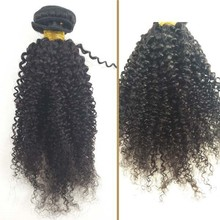 Yiwu hotsell Afro kinky curly 100% indian human hair extensions