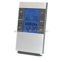 hot sell digital weather forecast table clock with decorative home decor