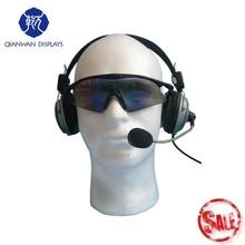Barato claro cabeça de espuma manequins para peruca de exibição QianWan exibe