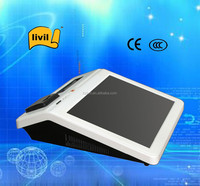 Pos android tablet case with credit card reader / printer