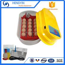 48 mini huevos automático incubadora del huevo de codorniz