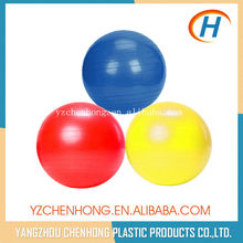 2015 fluorescent color exercise balls, exercise ball factory supply