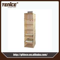 Tenice 2015 new fabric closet hanger storage organizer
