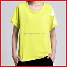 Wholesale women baseball t shirt